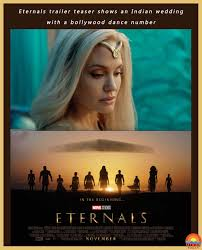 Disney/marvel studios) having originally been slated for november 2020, the eternals' theatrical debut has been pushed back to november 5, 2021. Marvel Eternals Cast India Marvel Eternals A New Phase To Marvel Cinematic Universe Mcu Marvel Phase 4 Screeninsuits Fresh Off Her Best Director And Best Picture Wins At The 2021