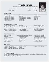 Modeling Resume Template Cool Child Modeling Resume Sample Terrific Modeling Resume Template