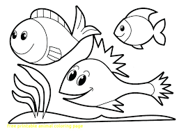 Free Amimal Coloring Pages For Preschoolers To Print Fun For Kids