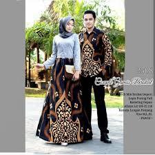 Terkait dengan baju couple gamis muslim untuk kondangan terkini, banyak sekali modelnya, misalnya baju gamis kombinasi batik, baju gamis muslim kombinasi brokat, baju gamis muslim kombinasi kebaya. Jual Setelan Seragam Batik Remaja Sarimbit Batik Kebaya Brokat Pesta Bdi35 Kota Pekalongan Batik Mekar Jaya Tokopedia