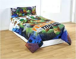 ninja turtle bedding bed set full size twin