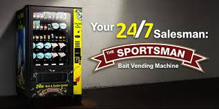 Used Live Bait Vending Machine For Sale Mesmerizing Sportsman Live Bait Vending