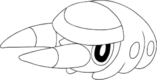 Disegno Di Grubbin Dei Pokemon Sole E Luna Da Colorare Colorare