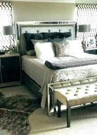 Black White And Silver Bedroom Ideas Glamour Bedroom Set Glam Best ...
