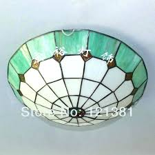ceiling lights stained glass ceiling light fan lamp shades panels