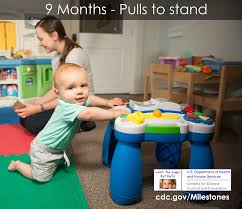 Important Milestones Your Baby By Nine Months Cdc