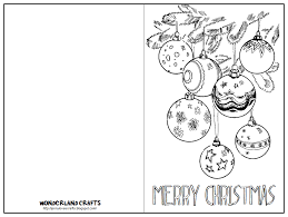 Christmas Card Templates For Kids Christmas Cards To Color