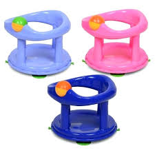 bath seat safety child toddler swivel bath support seat pink blue primary bath seat for child bath seat