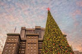 Sf Union Square Tree Lighting San Franciscos Union Square At Christmas Photo Tour