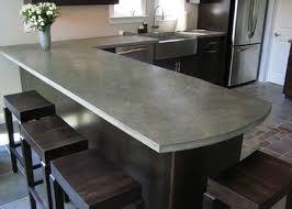 cheap kitchen countertop ideas. Delighful Kitchen Concrete Countertop In Cheap Kitchen Ideas