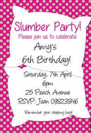 sleepover template slumber party free printable sleepover party invitation template