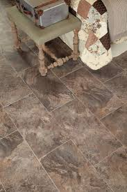 stainmaster x groutable harbor slate brown l and stick slate luxury vinyl tile