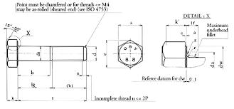 Hex Head Bolt Diagram Wiring Diagrams