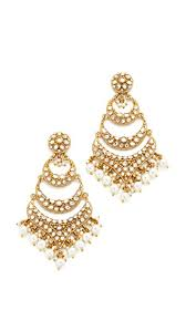 blossom box imitation pearl dangle chandelier earrings gold pearl womens accessories jewelry