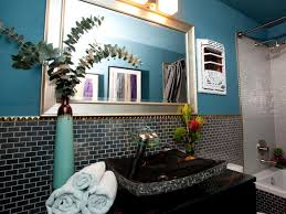 Dark Blue Bathroom Photo Page Hgtv