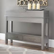 black hall tables narrow. Altra 6 Drawer Accent Console Table 5089096 Narrow With Drawers Black Hall Tables N