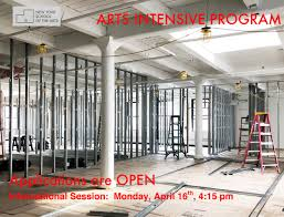 arts intensive information session on new york in art wall calendar 2017 with events new york school of the arts new york school of the arts