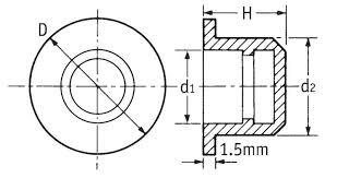 round plug male pvc flange 12692 essentra components Male Plug Diagram round plug male pvc flange 12692 essentra components 110 male plug wiring diagram