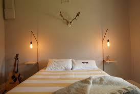 bedside lighting wall mounted.  lighting diy bedside table u0026 lamp elle south africa intended bedside lighting wall mounted u