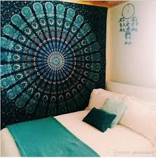 handicrafts mandala tapestry wall hangings hippie wall art collage dorm beach throw bohemian tapestry home wall decoration the unicorn tapestry thin