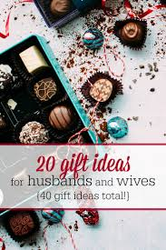 find the perfect gift for your spouse with this list of gift ideas for husbands and
