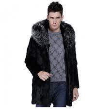 new long thermal fur collar hooded faux fur