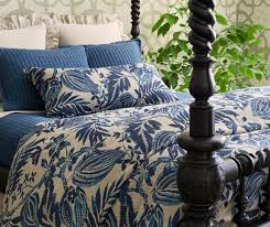 antigua linen duvet cover by pine cone hill bedding
