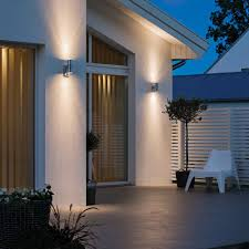 outdoor wall lights up down light mounted on home office