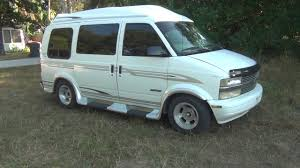 All Chevy 99 chevy express : 1999 Chevy Astro MARK III LE Conversion - YouTube