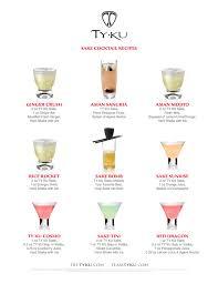 Ty Ku Sake Recipes Lets Go To The Chart Mandatory