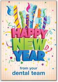 happy new years postcard dental new years postcards smartpractice dental