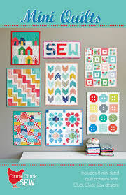 Mini Quilt Patterns Adorable Mini Quilts Cluck Cluck Sew