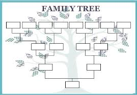 Template For Family Tree Mac Download Them Or Print