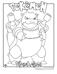 Small Picture Blastoise Coloring Page Woo Jr Kids Activities
