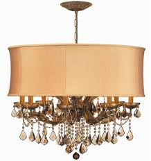 12 lights antique brass crystal chandelier dd