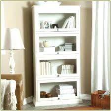 white bookcase with glass doors bookshelf with glass doors billy bookcase glass doors vintage white bookcases