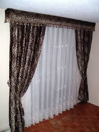 Curtain Valances For Bedroom Brown Curtains For Bedroom
