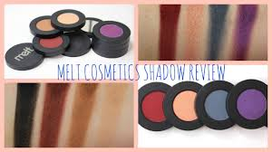 melt cosmetics love sick and dark matter stack review dupes bailey b you