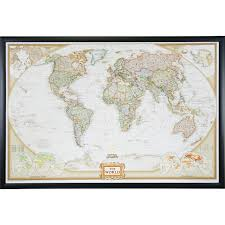 Pins For Maps Wayfarer Executive World Push Pin Map