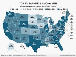 How Much The Highest Paid Women Earn In Every Us State Business