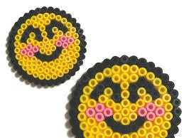 Smiley Emoticon En Perles Repasser