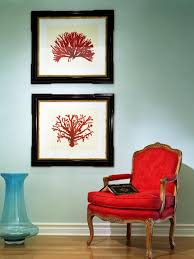 Red And Turquoise Living Room Furniture Glossary Chairs Hgtv