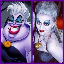 the little mermaid ursula makeup costume costume party ideas mermaidakeup