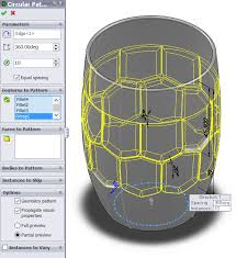 Circular Pattern Solidworks Custom Wrap And Circular Pattern Tools Model A Beer Mug With SolidWorks