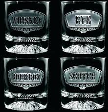 custom etched bourbon glasses engraved scotch glass leather wrapped whiskey best and images on for personalized