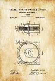 steampunk office decor. Tesla Turbine Patent 1913 - Prints, Invention, Patent, Nikola Steampunk Office Decor U