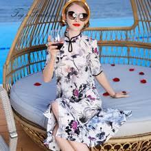 real silk <b>dress</b> summer <b>2019 women</b> maxi party casual office long ...