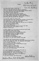 autumn by helen keller songs and poems lyrical legacy teacher autumn typewritten copy inscribed by helen keller 1893
