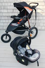 i own a luxury brand jogger and i m going to say that this jogger is smoother and more sy plus being able to make it a travel system makes it a better