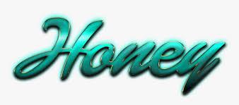 honey name logo png honey name